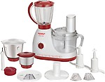 Maharaja Whiteline Smart Chef FP-100 600 W Food Processor