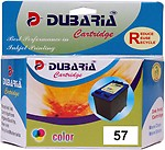Dubaria 57 Ink Compatible For Canon Cl 57 Color Ink Catridge