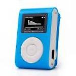 NICK JONES Digital MP3 Music Player LED Screen MP3 Player(Blue, 1 Display)