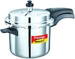 Prestige Deluxe Alpha Stainless Steel Pressure Cooker, 3.5 Litres