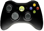 Microsoft JR900012 Xbox 360 Wireless Common Controller USB (Black)
