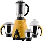 Anjalimix Spectra Yellow 1000 Watts 4 Jars 1000 W Mixer Grinder(4 Jars)