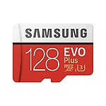 Samsung 128GB EVO Plus Class 10 Micro SDXC