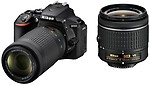 Nikon DSLR Camera ( With the AF-P DX Nikkor 18 - 55 MM F/3.5-5.6G VR and AF-P DX Nikkor 70-300 MM F/4.5-6.3G ED VR )