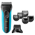 Braun Series 3 Shave&Style 3010BT 3-in-1 Electric Wet&Dry Shaver