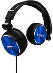 Coby Cvh-804-Nvy Aluminum Foldz Headphones