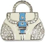Zeztee Lady Purse Shape Fancy Jewellery Style 16 GB Pen Drive