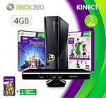 Microsoft X-Box 360 4 GB Kinect Bundle