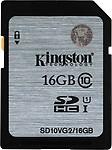 Kingston UHS-1 16 GB SDHC Class 10 80 MB/s Memory Card
