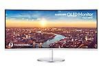 Samsung 86.4 cm (34.0 Inch) Ultra WQHD(QLED) Curved Monitor (LC34J791WTWXXL)