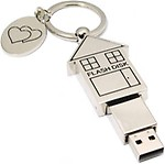 Microware Home Shape Designer 16GB Pen Drive