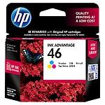 HP 46 Tri-color Original Ink Advantage Cartridge CZ638AA