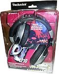 Technics Professional DJ Headphones RP-DJ1210E-S