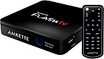 Amkette Flash TV 720P Multimedia Player (Black)