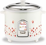 Butterfly BLOSSOM 1.8L WHITE Electric Rice Cooker(1.8 L)