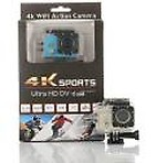 Whelked Action Camera 4K Action Camera 16MP Sony Sensor Vision 3 Underwater Waterproof Camera 170° Wide Angle Sports and Action Camera Sports and Action Camera( 16 MP)