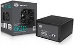 Cooler Master MasterWatt Lite 600W 230V UK Retail(MPX-6001-ACABW-UK) 600 Watts PSU