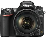 Nikon D750 Body with 24-120mm VRLens Body With 24-120mm VR Lens Mirrorless Camera
