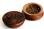Heirloom Quality 50mm Wooden Herb Crusher