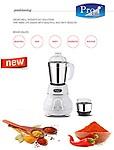 Prolife Mini Matka 450 Watt 2 Jar Extra Heavy Duty Mixer Grinder
