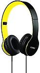 Coby Cvh-801-Ylw Folding Stereo Headphones Headphones