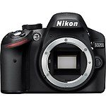 Nikon D3200 24.2MP Digital SLR Camera Body Only, 8GB Card, Camera Bag