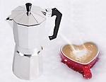 THW Aluminium Italian Espresso Coffee Maker/Filter Coffee Maker Percolator for 6 Cups of Moka Pot, 300 ML