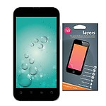 Layers Karbonn A9+ plus matte screen guard with Anti-reflection