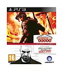 Compilation Splinter Cell Double Agent + Rainbow Six Vegas PS3 Game