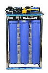 Aqua Health Care 100 LPH Commercial RO Water Purifier Plant, 100 Liter