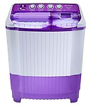 Intex Above 8 Wmsa80lv Semi Automatic Top Load Washing Machine White And Lavender