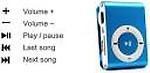 Allmusic Mini Rechargeable Shuffle MP3 Player Portable music player 32 GB MP3 Player