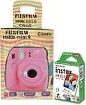 Fujifilm Instax Mini Camera Mini 9 Classic Flamingo Pink Instant Camera