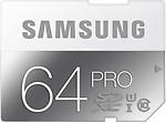SAMSUNG PRO 64 GB SDXC Class 10 90 MB/s Memory Card