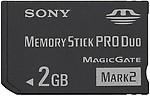 Sony MS-MT2G/T 2GB Produo Card