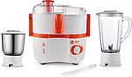 Orient Electric JM5003F 450 W Juicer Mixer Grinder(2 Jars)
