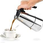 SNAPCOM Stainless Steel Espresso Coffee Maker/Percolator Coffee Moka Pot Maker