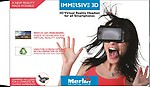 Merlin Immersive 3D VR headset for all smartphones