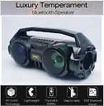 fiado bluetooth 5.0 stereo bass colourful LED light karaoke 20 W Bluetooth Speaker( Stereo Channel)