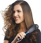 Jeval Hair Straightener Hair Straightening Comb Brush Ceramic Straight Electronic Hair Straightener