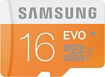Samsung SDHC 16 GB Class 10 Evo
