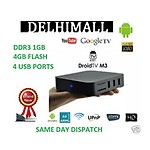 Branded Droidtv Media Player M3 Android 4 Google TV Box 1.4 Ghz, 1G, 4GB, XBMC , HDD Divx
