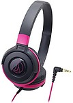 Audio Technica Street Monitoring Portable Headphone Ath-S100 Bpk (Black ) Headphones