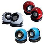 QUANTUM QHM620 USB SPEAKER Multimedia Speakers (Color may Vary)