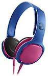 Philips Sho3300Clash/28 O'Neill Cruz Headband Headphones, Blue/ Headphones