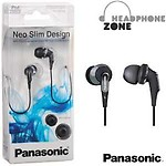 Panasonic In-Ear Canal Earphone Headphone for iPods,MP3 RP-HJE350E-S