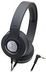 Audio Technica Solid Bass Portable Headphones | Ath-Ws33X Bk (Japan Import) Headphones