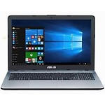 Asus X541NA-GO125T 15.6-inch (Pentium Quad Core N4200 CPU / 4GB Ram / 1TB HDD / Win10/), Silver With 1 Yrs Warranty By Asus India Service Center
