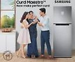 Samsung 314 L Frost Free Double Door 2 Star (2020) Refrigerator  (Real Stainless, RT34T4632SL/HL)