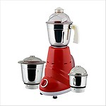 ANJALIMIX MIXER GRINDER ZOBO RED 600 W WITH 2 JARS